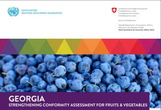 GQSP Georgia - Strengthening Conformity Assessment for Fruits & Vegetables